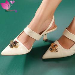 Hebillas de zapatos personalizados Estrás Bee zapatilla zapatos zapato de Cristal Accesorios Metal hebilla