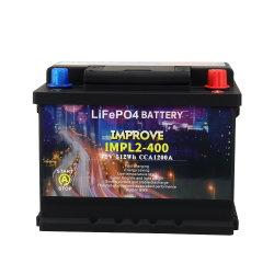 L2-400 pacchetto ricaricabile della batteria di ione di litio del dispositivo d'avviamento 12V 40ah CCA1200A di salto della batteria dell'automobile LiFePO4 con protezione di tensione di BMS