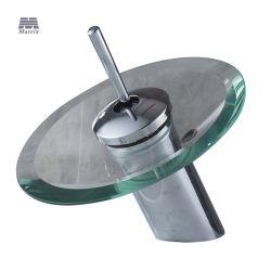 매트릭스 욕실 현대적인 유리 물수구 수도꼭지용 싱글 레버 베이슨 수도꼭지