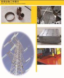 ماكينة تمييز الحفر الهيدروليكية عالية السرعة من CNC لزاوية البرج