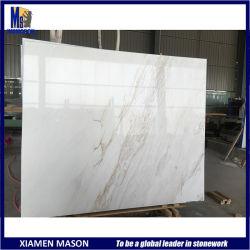 Tegels van de Plak van de Steen van het Graniet van Ariston van de Opbrengst van Griekenland de Witte Marmeren voor Countertop Bekleding van de Muur van de Tegel van de Vloer van de Strook de Openlucht