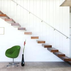 2020 Tailandia moderna de la banda de rodadura de madera de roble escalera Escaleras flotantes