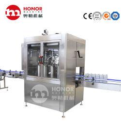 Caixa de esterilização e asséptica Higienizador mão garrafa de plástico branco enchimento de gel de equipamentos de produção e embalagem
