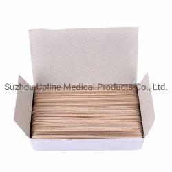 O depressor da Lingueta de madeira médica de madeira descartáveis Depressor da Lingueta