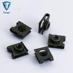 أسود يقسم نابض فولاذ [65من] مشبك صواميل [أو-تب] [لف سبرينغ كليب] صمولة سرعة صواميل