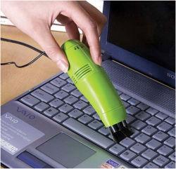 Clavier USB Nettoyeur Aspirateur à main
