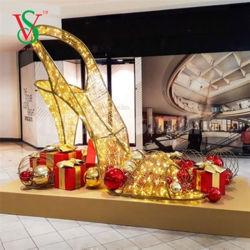 3D Grote Decoratie van de Wandelgalerij van Kerstmis van de Vakantie
