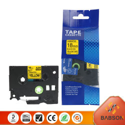 Babson Direct Sale Ink Color Ribbon voor 18mm Brother Aze-641
