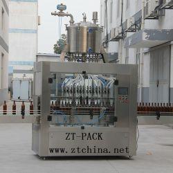Máquina de enchimento automático de água mineral vinagre/Caixa de gravidade de enchimento de líquido de pesticidas