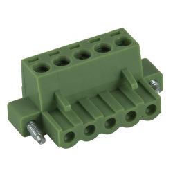 Подключите клеммную колодку с монтажными отверстиями 7.5/7.62мм