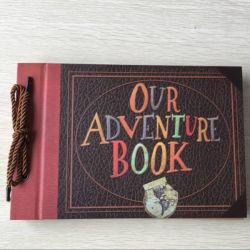 Álbum de fotos em álbuns, álbum artesanais bricolage Filme Scrapbook Scrapbook para viagens até Aniversário
