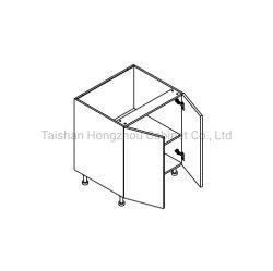 Sin cerco Popular caliente Base Modular kitchen cabinet