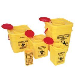 7L Plastikgelbes scharfes Plastikscharfes Comtainer des sortierfach-3L des Kasten-8L
