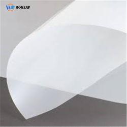 Il poliestere del rullo dai 100 micron riveste il positivo impermeabile trasparente latteo della pellicola del getto di inchiostro dell'animale domestico per la fabbricazione del clichè dello schermo