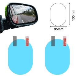 Voiture de l'écran de rétroviseur anti brouillard Potectorr Commerce de gros de la transparence voiture Gadgets BOPP Film anti brouillard pour voiture