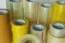 OEM ホールセールノイズなし、ドームカバーなし、防水、クリスタル、スーパークリア OPP 包装用テープペット包装用テープ