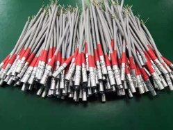 الفئة QM B من معدن TEG الدائري المقاوم للمياه بجهد 12 فولت من المعدن متعدد المسامير موصل الدفع الذكر