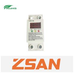 지연 기능을%s 가진 전압 프로텍터 장치에 또는의 밑에 디지털 자동 재시동