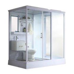 غرفة دش مرحاض كاملة مع حوض غسيل وكويرة حمام