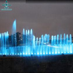 Utilisation de décoration intérieure et extérieure de la musique de danse fontaine de jardin de l'eau
