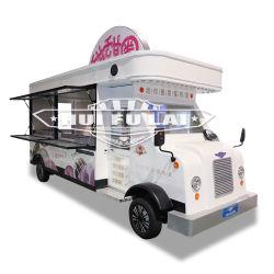 Barbacoa de hamburguesas Pizza Donut camión de helados Móvil de Alimentos de café eléctrico coche Móvil de Alimentos al aire libre Carretilla con equipamiento de cocina