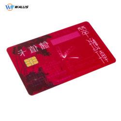 전시를 가진 ID IC Rifd 감응작용 카드 칩 카드 공급자에게 연락하십시오