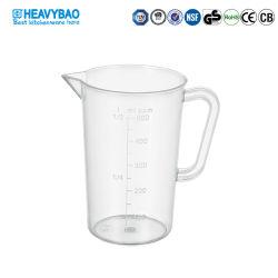 Water die van de Vloeibare Melk van PC van de Bakkerij van de Keuken van Heavybao het Plastic Kop meten