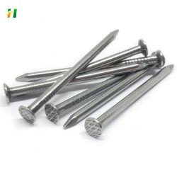 precio de fábrica de clavos de acero galvanizado de alambre de uña común para la construcción de la uña