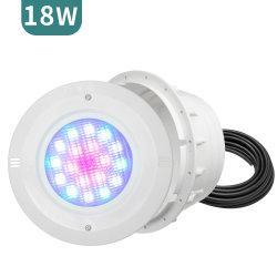 제조업체 20W 동기식 제어 구조 방수 LED PAR56 LED 수영 수영장 조명