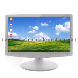 شاشة LED مزودة بشاشة LED مزودة بشاشة ملونة بيضاء مقاس 15.6 بوصة مزودة بتقنية عرض أسعار كمبيوتر رخيصة شاشة LCD