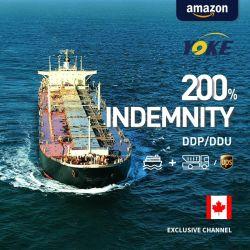 الشحن فوق المحيط إلى كندا من الشحن البحرى الصينى بكندا وكيل الشحن البحري
