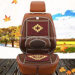Moda calientes Bolitas de madera hecha a mano original del cojín del asiento de coche con el apoyo de la cintura