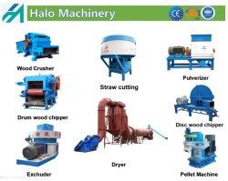 Capacité élevée/haute efficacité/Movable/haut/bois complet et bois agricole Mille/l'écrasement/sciure de bois/Chipper L'équipement pour la biomasse végétale d'alimentation