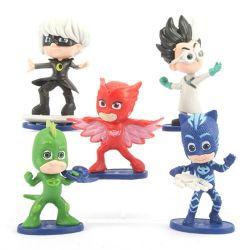 Benutzerdefinierte PJ Masken PVC-Figur für die Förderung Kunststoff Spielzeug Fabrik