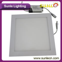 Panel 12W Cuadrados de Luz LED de Luz LED Panel