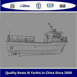 2019 نموذج جديد 11.6 م سفن صيد الأسماك التجارية من فيبرجلاس 1160