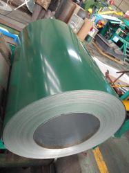 PPGI Bobines en acier galvanisé prélaqué/plaque de carton ondulé par tonne de feuilles de toiture