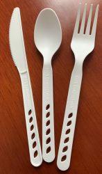 ベテランの食糧接触安全なCompostable使い捨て可能なプラスチックテーブルウェア中国の製造業者