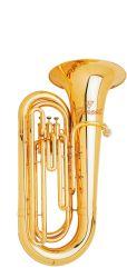 Instrument de cuivre de gros petit tuba en laiton jaune, fabriqués en Chine