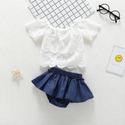 Babyknit-gewirkte Hemd-Blusen-Unterwäsche-Klage-Kleidung