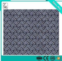 Ss400 Heiß Gerollter Aluminium-Legierung Schwarzer Tear Drop Karierter Stahl Platte
