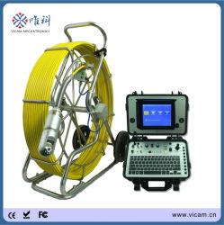 A tubulação horizontal e vertical motorizado para venda de câmara Câmara de inspecção de esgotos de Controle Remoto para 60-400mm