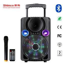 Bluetooth와 빛을%s 가진 Shinco 새로운 개인적인 모형 휴대용 스피커