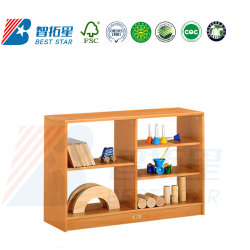 Kinder buchen Regal und Bücherregal, Schuhregal, Holzregal Für Kinder, Toy Storage und Sortimentsregal, Play and Display Shelf