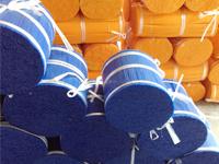 Щетка из натуральной щетины для дорожного основания электрошвабры нити накаливания PP из полипропилена или Плоская стальная проволока
