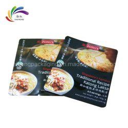 Impressão personalizada fecho resselável embalagens de plástico para alimentos
