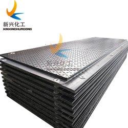 De HDPE de serviço pesado solo tapetes para campos petrolíferos de perfuração óleo pega de segurança da placa de perfuração para a construção