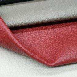 Geprägtes Lichee MusterFaux synthetisches künstliches PU-Belüftung-Mehrfarbenleder für Sofa-Möbel