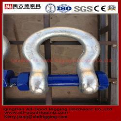 Nous le matériel de levage Typeg209/G210/G21030/ G2150 Manille lyre en acier galvanisé