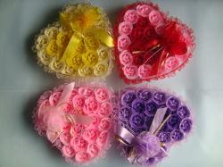 Papel decorativo Rose Flor de sabão para casamento